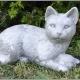 """""""Katt med boll"""" Art.nummer: 1145, Vikt: 8 kg, Höjd: 20 cm"""