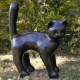 """""""Katt fräsande"""" Art.nr: 1155, Vikt: 13 kg, Höjd: 30 cm"""