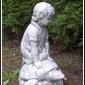 """""""Pojke på sköldpadda"""" Art.nummer: 1435, Vikt: 9,5 kg, Höjd: 38 cm"""