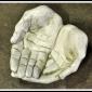 """""""Fågelbad händer"""" Art.nr: 1102, Vikt: 5,5 kg, Höjd: 29/29 cm"""