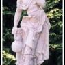 """""""Kvinna med vinkanna"""" Art.nummer:1403, Vikt: 20 kg, Höjd: 70 cm"""