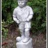 """""""Fotbollspelare"""" Art.nr: 1438, Vikt: 3 kg, Höjd: 35 cm"""
