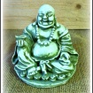 """Buddha nr. 3"" Art.nr: 1323, Vikt: 1,6 kg, Höjd: 12 cm"