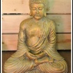 """Buddha nr. 4"" Art.nr: 1324, Vikt: 20 kg, Höjd: 42 cm"