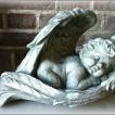 Stor ängel i vingar