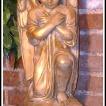 """""""Ängel stor"""" Art.nummer: 1449, Vikt: 22 kg, Höjd: 53 cm"""