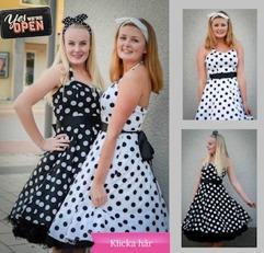 Snygga klänningar retro