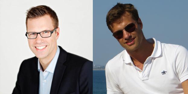 Ludvig Granberg, VD Hemsida24.      Foto: (vänster) Fröken Fokus, (höger) privat