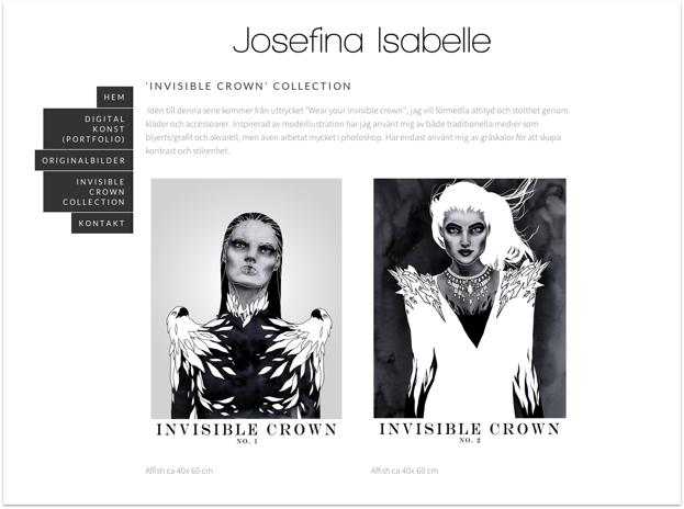 Klicka på bilden för att komma till Josefina Isabelles hemsida.
