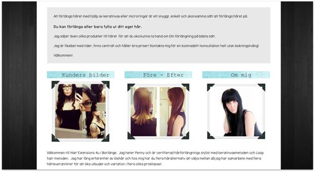 Klicka på bilden för att komma till Hair Extensions 4U´s hemsida