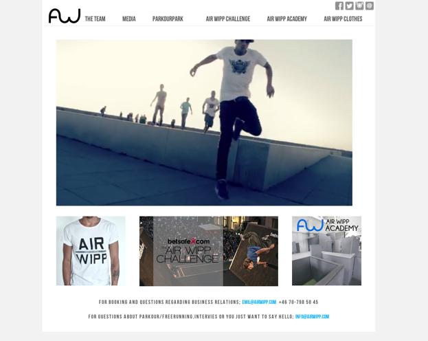 Klicka på bilden för att komma till Air Wipps hemsida och se coolaste videon!