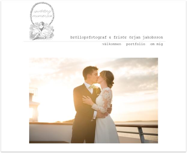 Klicka på länken för att komma till Wedding Memories hemsida.