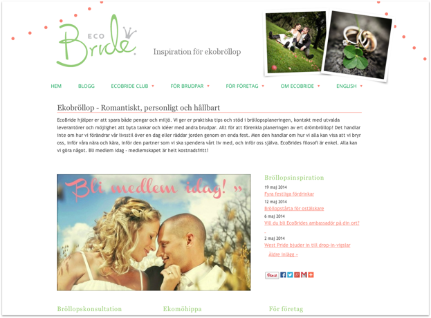 Klicka på bilden för att komma till EcoBrides hemsida.