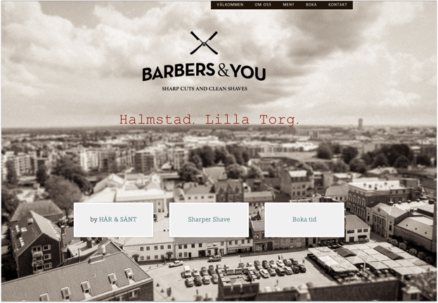 Klicka på bilden för att komma till Barbers & You´s hemsida.