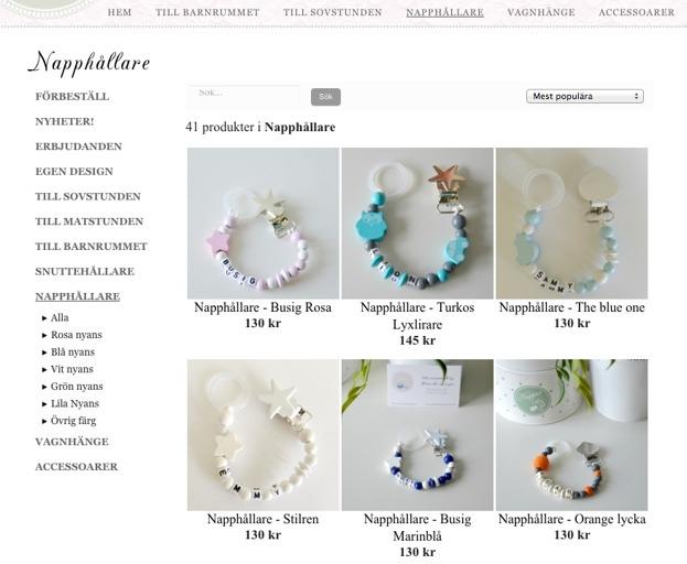 snowychili design, hemsida24, inspiration, e-butik