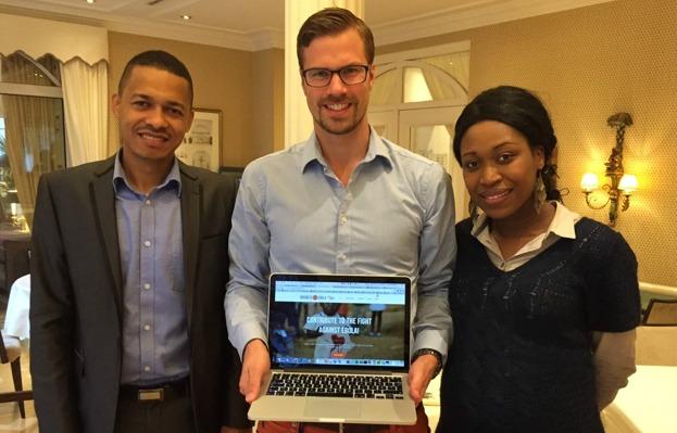 hemsida24, business agianst ebola, eu-africa chamber of commerce, kampanj, välgörenhet