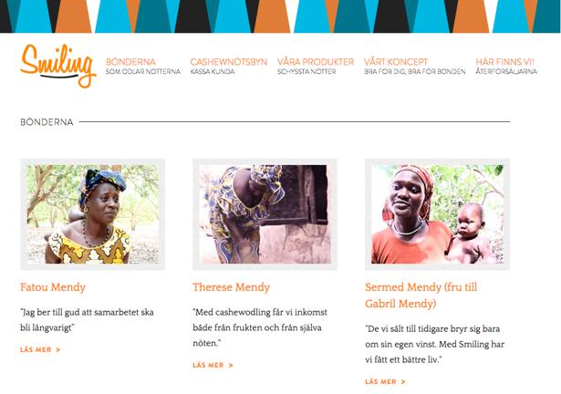 Smiling Group, Smiling Cashew, Hemsida24, framgång, Afrika, nötter, venture cup, Söderling