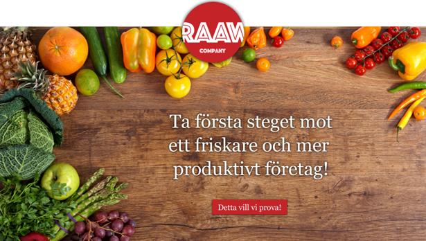 raaw company, trender, konceptutveckling