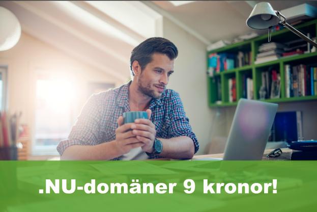 hemsida24, domäner, .NU-domän