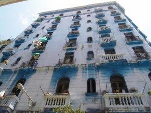 Elegant hus i Havannas gamla stadsdel  Habana Vieja