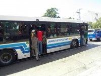 Trångt på bussen