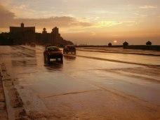 Solnedgång vid Nacional