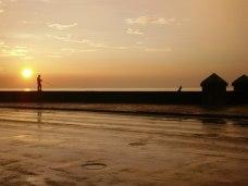 Solnedgång på Malecón