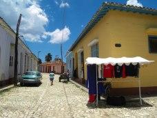 Gatuförsäljning i Trinidad