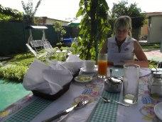 Frukost i Cienfuegos