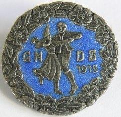 GNDS Förtjänstmärke Silver