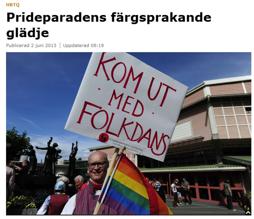 Göteborgs Posten 3 juni 2013