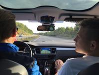 Hämtad på Arlanda - körd till Danmark