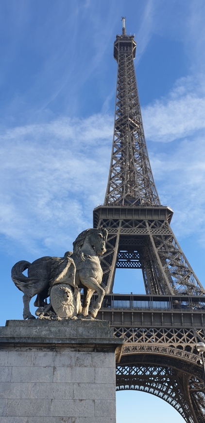 Eiffeltornet.