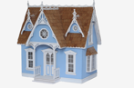 Victorian cottage Dollhouse kit 1:12