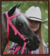 Olivia & Oliver Mini Headstall/Bridle - Mini Headstall/Bridle Hot Pink