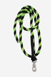Olivia & Oliver Mini Rope Lead - Pony Rope Lime/Black