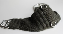 Western Mohair Cinch Saddle Rigging - Fir 16 ply