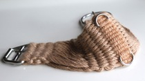 Western Mohair Cinch Saddle Rigging - Gold 16 ply
