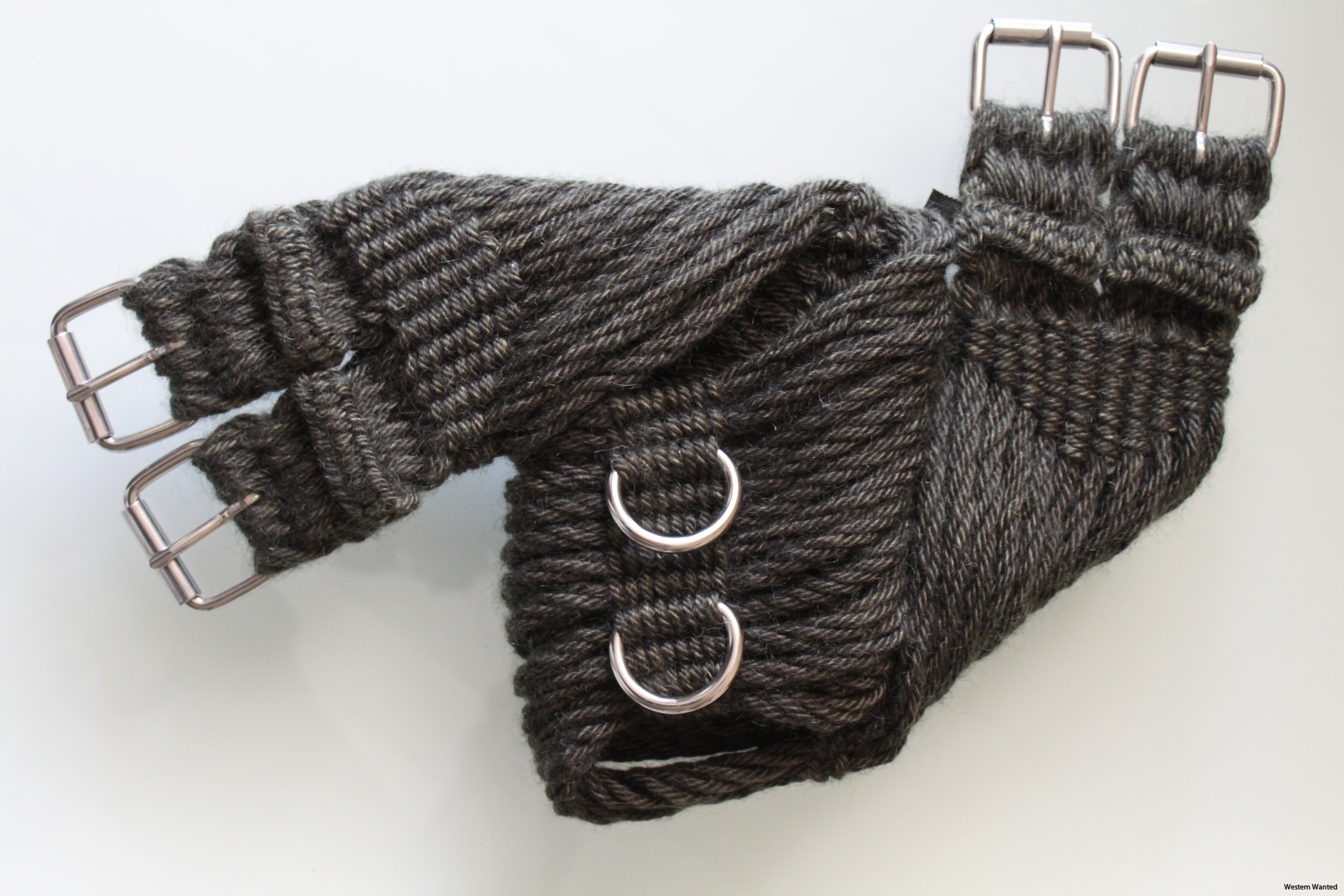 English Mohair Girth Saddle Rigging - Fir 16 ply