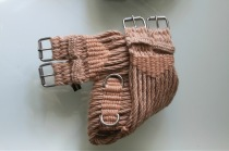 English Mohair Girth Saddle Rigging - Gold 16 ply