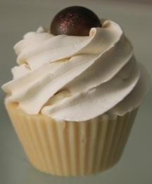 """Root Chakra Cupcake Soap - Root chakra, """"Muladhara"""" – röd"""