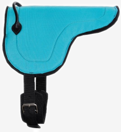 Olivia & Oliver Mini Bareback Pad - Minishetland Bareback Pad Turquoise
