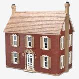 18th-century Dollhouse kit Big skala 1:12