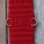 Western Mohair Cinch, Really Red 16ply