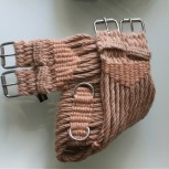 Dressage, Mohair Girth, Saddle Rigging - Gold 16 ply