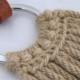 Western Mohair Breast Collar Honey 16 ply