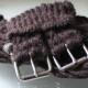 English Mohair Girth Saddle Rigging - Bear 16 ply - Mohair English girth Bear 32