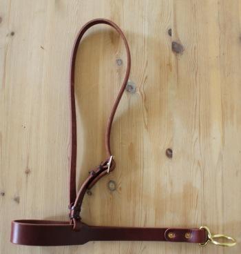 Roper Noseband Tie Down -