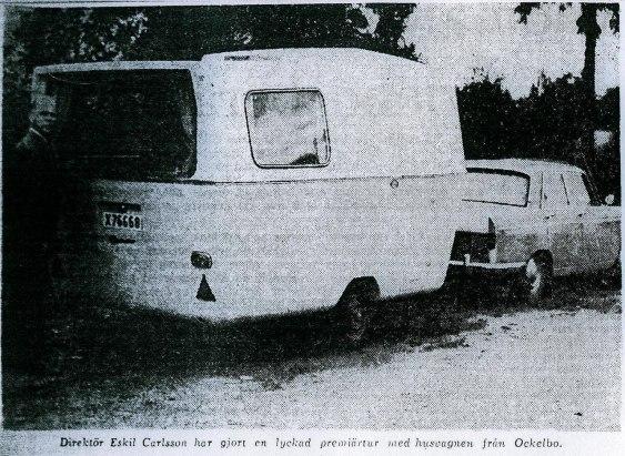Klipp ur en tidning 1965