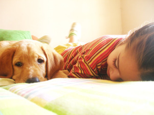 Sova bredvid är bättre än på...
